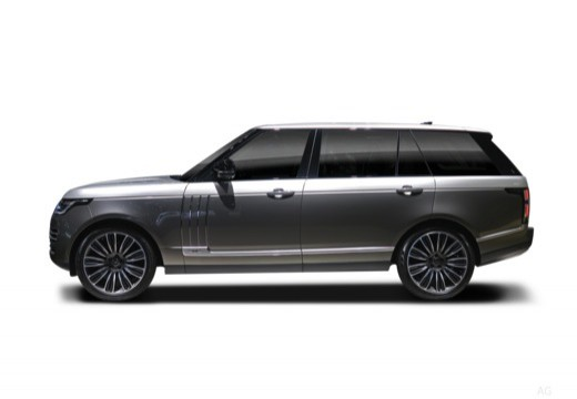 Range Rover Laterale Sinistra
